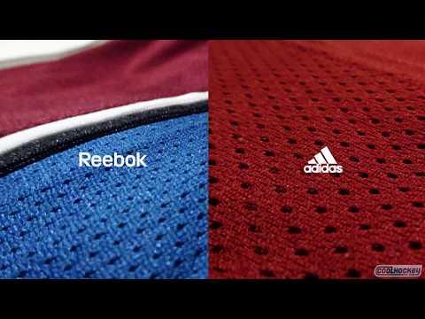 Adidas vs Reebok - NHL Jersey Comparison