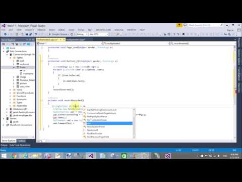 Add multiple selected items from ListBox into database in ASP NET C#