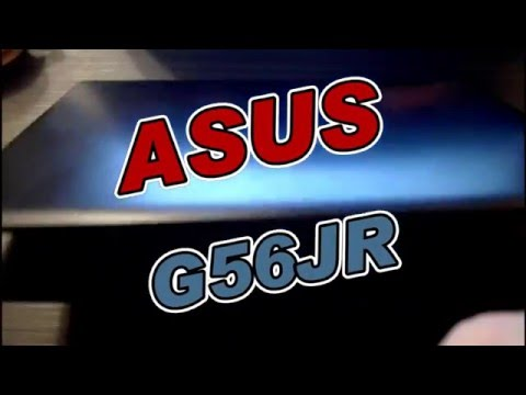 Disassemble ASUS G56JR - CN168D  - HDD & RAM