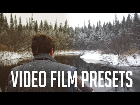 Adding a Film Preset to Video