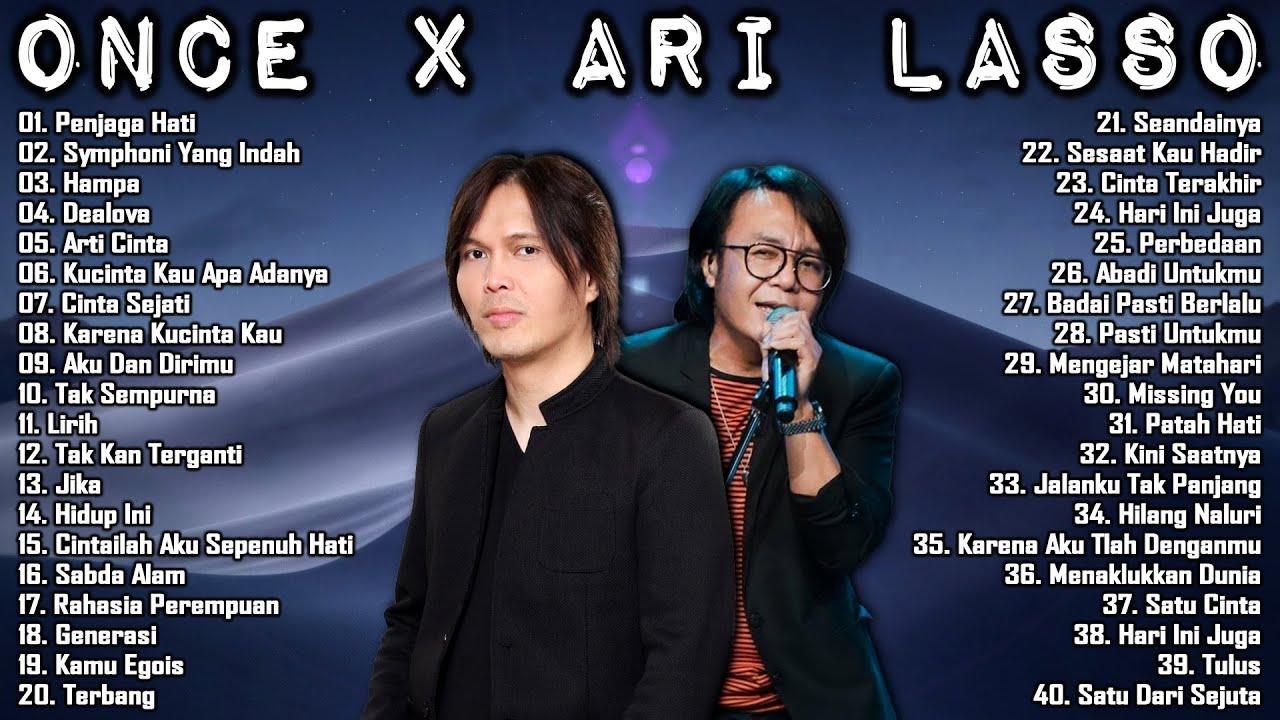 Download Once x Ari Lasso [Full Album] 40 Lagu Terhits & Terpopuler MP3 Gratis