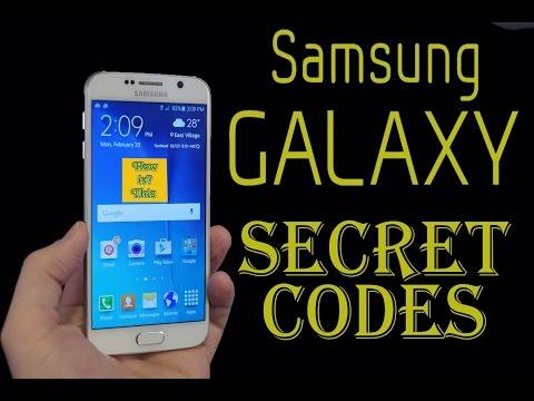 samsung secret codes