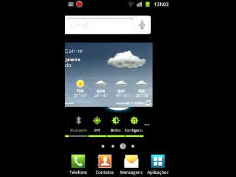 Testando o app ScreenCast@Galaxy SII