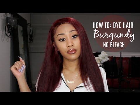 How To: Dye Hair Red Without Bleach With Loreal Hicolor ft Lemoda Hair