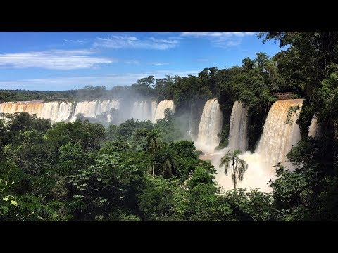 Iguaçu Waterfalls, Brazil/Argentina : Earth Day Special