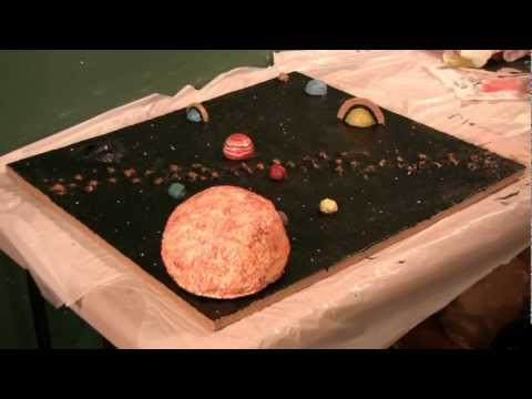 Build a solar system model