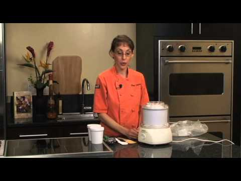 How to use an ice cream maker