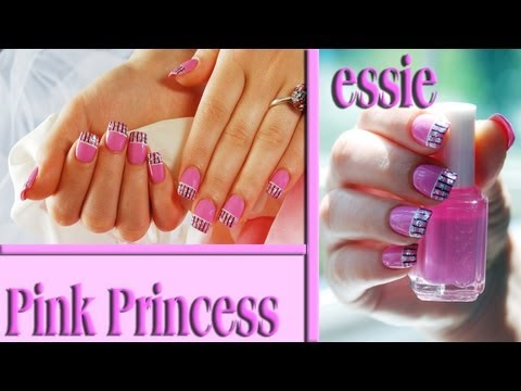 Pink Princess Easy Nail Design Tutorial. Nails Of Promise