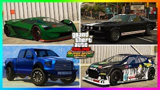 GTA 5 Online DLC Update ALL 11 NEW Unreleased Super Cars/Vehicles - Release Dates & MORE! (GTA 5)