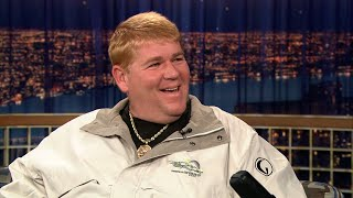 """John Daly Hates Golf Course Dress Codes - """"Late Night With Conan O'Brien"""""""