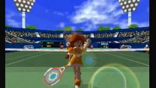 Mario Tennis N64 Mushroom Cup: Daisy