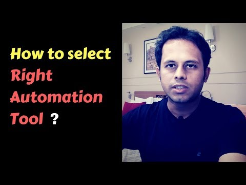 QnA Friday 39 - How to select Right Automation Tool ?