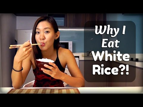 Why I Eat White Rice?! Unhealthy Diet?