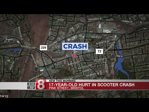 Bristol crash seriously injures teen