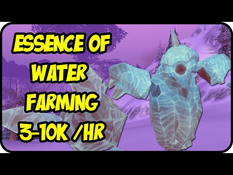 WoW Gold Farming Patch 7.0.3: Essence of Water Gold Making - Frostwhisper Gorge  - Legion Gold Guide