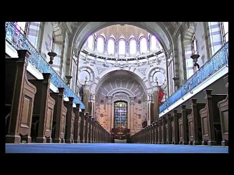 Eternal Father, Strong To Save (with words) - Navy Hymn - US Naval Academy Chapel