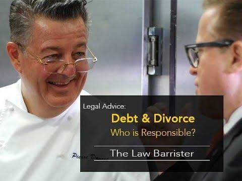 Debt & Ontario Divorce: Who's on the Hook?