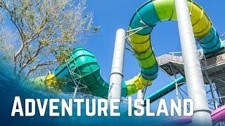 All Water Slides at Adventure Island Tampa, Florida (POV)