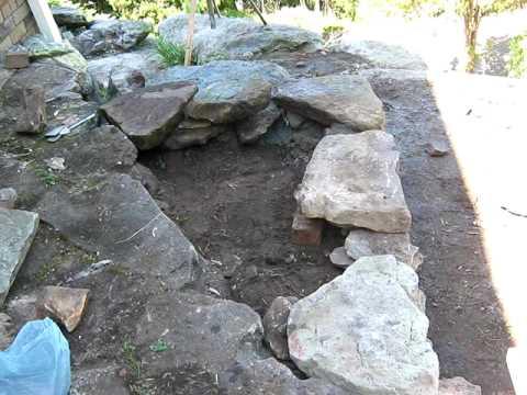 Building a rock path 1