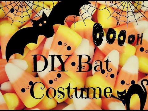 DIY Bat Costume #H(ally)ween
