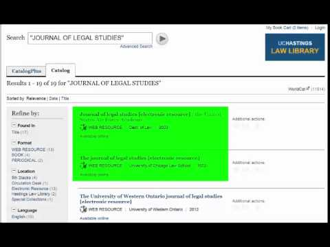 Find Articles on Lexis Advance by Citation