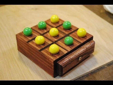 How to Make a Marble Tic-Tac-Toe Board (woodlogger.com)