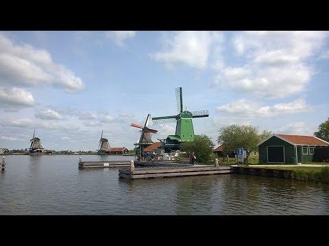 Zaanse Schans from Amsterdam Netherlands