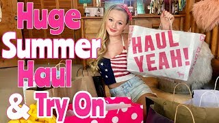 Huge Summer Clothing Try On HAUL 2019 with Ella