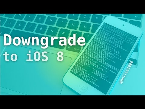 How to Downgrade to iOS 8 Untethered w/out Blobs or Computer (using PhoenixPwn)