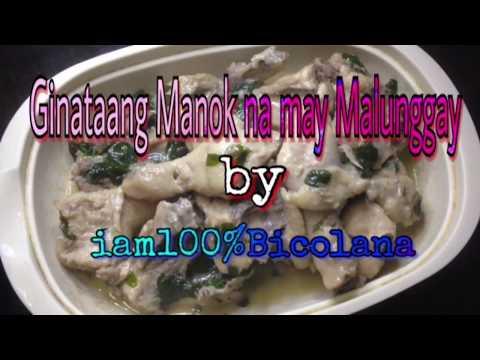 How to cook Ginataang Manok na may Malunggay