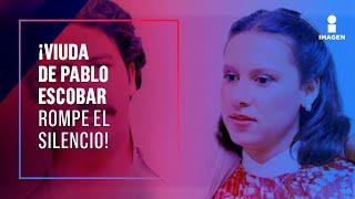 ENTREVISTA COMPLETA: la viuda de Pablo Escobar, María Isabel Santos rompe el silencio