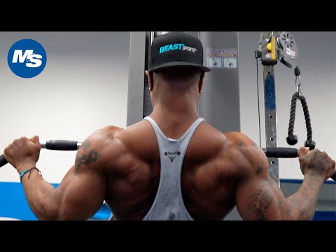 V Taper Back Workout   High Volume Back Day w/ Brandon Hendrickson