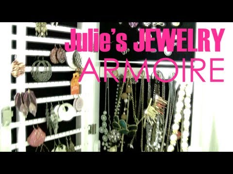 Fashion Friday: Julie's Jewelry Armoire