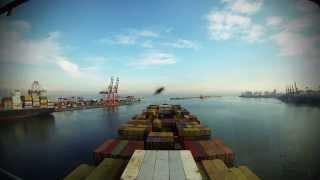 Time-lapse (60x): arrival & departure Colombo (Sri Lanka) [4K / UHD]