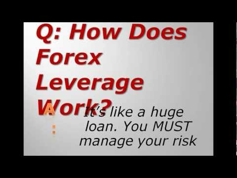 How Does Forex Leverage Work?