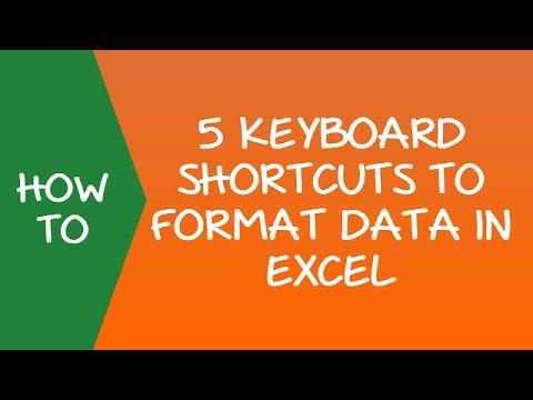 5 Powerful Excel Formatting Shortcuts