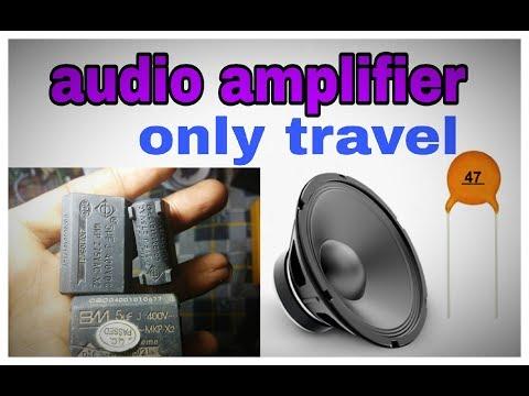 Make speaker louder and high treble ? using PF and capacitor|treble setting|(100% working 'korba')