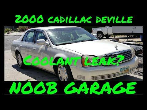 2000 Cadillac Deville check coolant level message