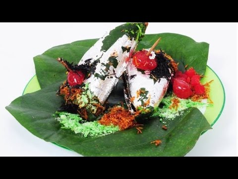 Indian Street Food - Paan Masala (Sweet Paan)