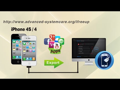 [iFreeUp]: How to Export Apps from iPhone 4S/4 to Computer without iTunes