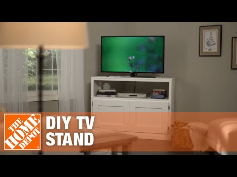 DIY TV Stand: How to Build a TV Stand