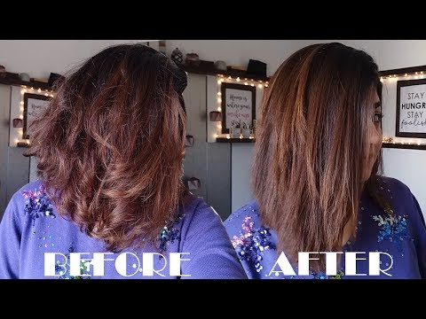 Styling My LOB | Quick Straight & GLOSSY Hair + LIFE UPDATE | GLOSSIPS