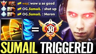 🔥 SUMAIL fully Triggered by Grandmaster Techies — Juggernaut WTF Hard Game Dota 2 Pro