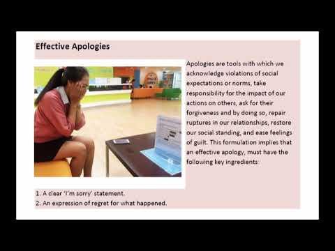 Complaints and Apologies การตำหนิและการขออภัย 2