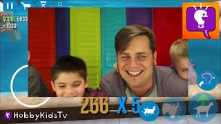 Real Goat Simulator! Video Game Rodeo + TMNT Fight on iPhone App HobbyKidsTV