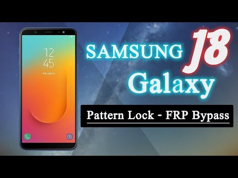 [Solved] Bypass FRP Pattern Lock Samsung Galaxy J8 (SM J810) Android 8.0 (Oreo)