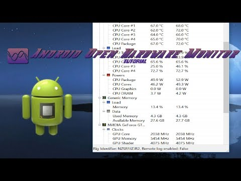 Android Open Hardware Monitor - PC Hardware Monitor