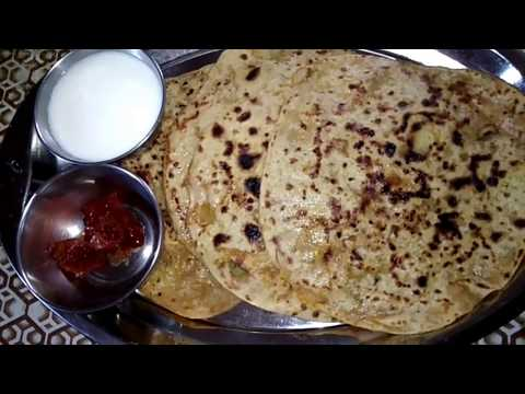 Weekend breakfast recipe Potato stuffed chapathi|Aloo Paratha Recipe In tamil