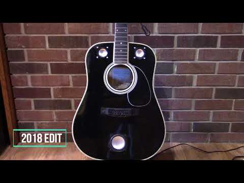 Custom made guitar speaker. (edited to remove copyright from 2015)