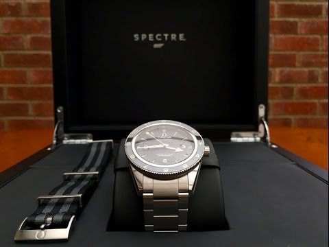 Omega Seamaster 300 SPECTRE Limited Edition James Bond 007 Watch unboxing & first impressions